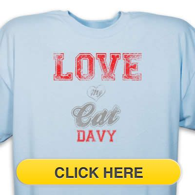 Check our Love my Cat T-Shirt to celebrate you #pet #animal#dog love. Just $18.99 + an extra $5off Just Enter Coupon Code: SAVEMORE5 at checkout at http://www.petproductadvisor.com/store/mc/love-my-breed-cat-tshirt.aspx