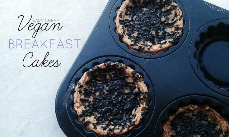 Vegan Breakfast Cakes