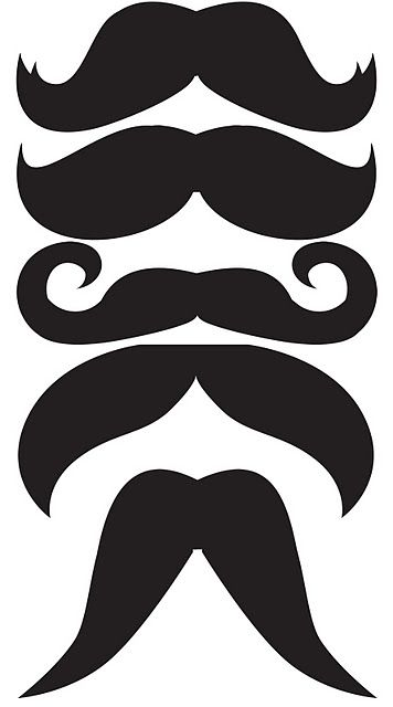 Mustache Templates for photo opps                                                                                                                                                     More