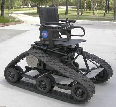 Track Drive Power Wheelchair For Sam Powered