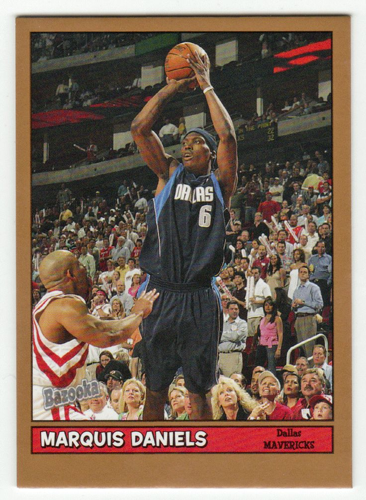 Marquis Daniels # 131 - 2005-06 Topps Baz Basketball Gold