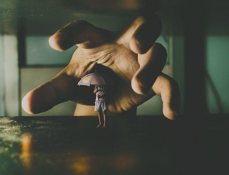 Fear by CJ Tajonera Bio - Surreal Fine Art Photography