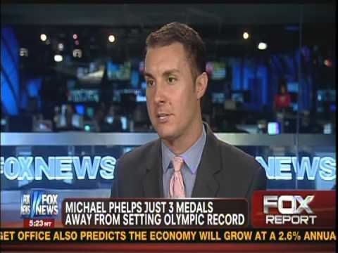 Michael Phelps Continues His Quest for Most Olympic Career Medals: Mike Bako on Fox News Live