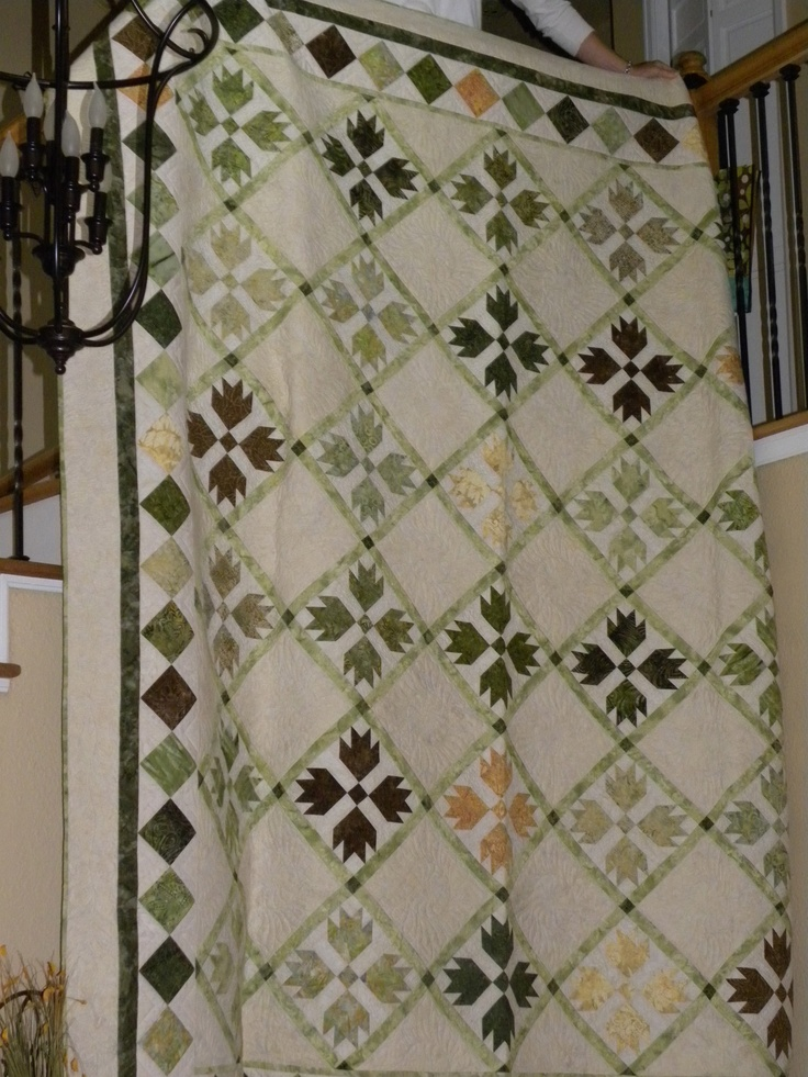 49 Best Images About Quilts Green And White On Pinterest