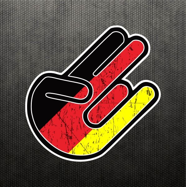 Shocker german flag sticker vinyl decal germany dope car sticker fits bmw benz