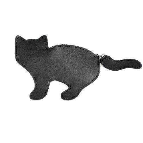 Black Kitten Coin Wallet #gift #giftidea #blackkitten @Kitty Purring #women #womenswear $44