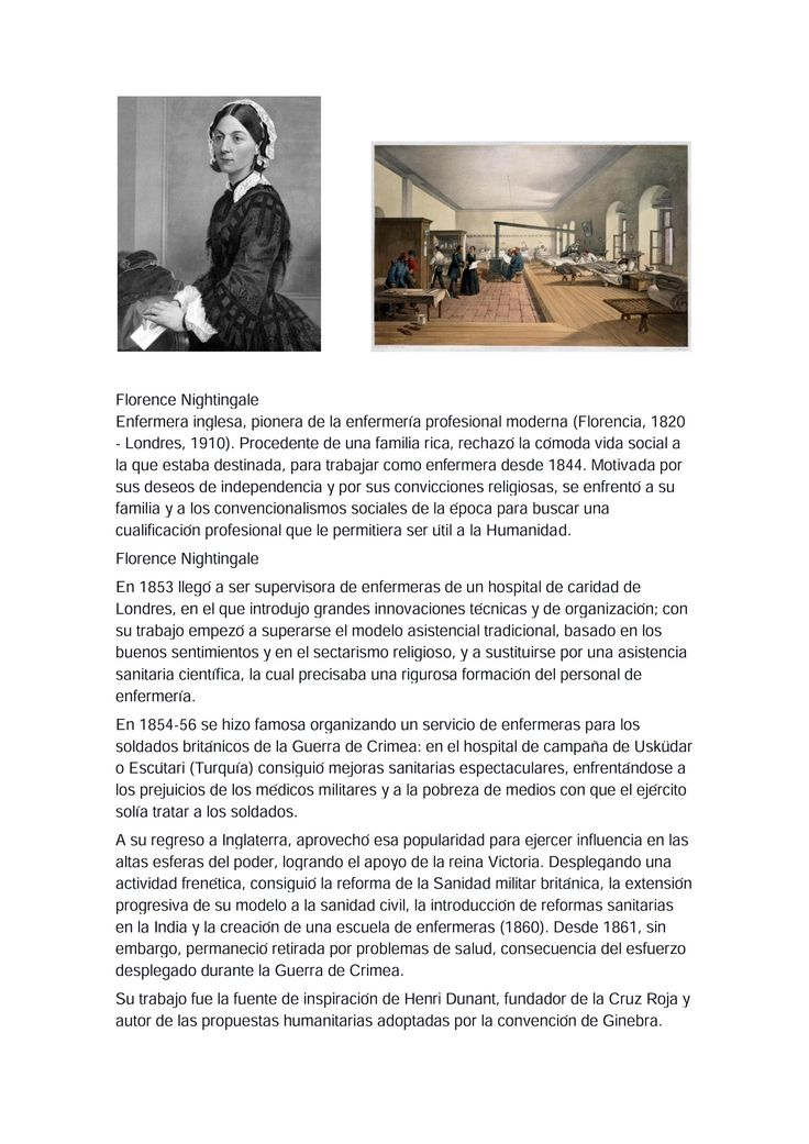 Biografia de Florence Nightingale