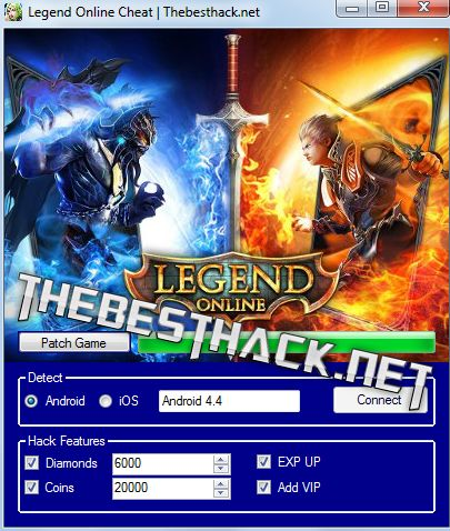 Legend Online Hack Cheat