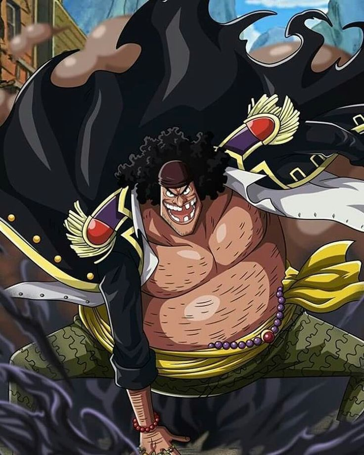 Barbe noire - One piece