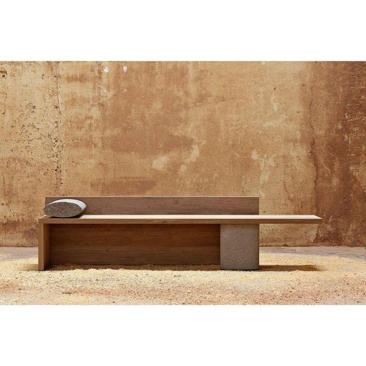 Concreto Bench By Claudia Moreira Salles