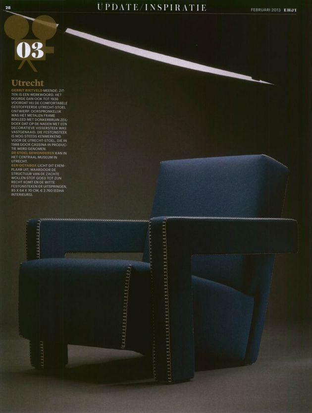 Utrecht armchair designed by Gerrit Thomas Rietveld | Cassina