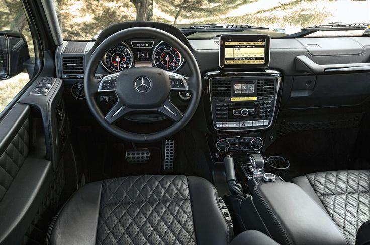 Mercedes-Benz G-Class G63 AMG Interior