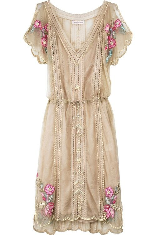 Matthew Williamson vintage style dress