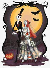 Nightmare B4 Christmas11 Counted Cross Stitch Kit Characters Designs In Thread