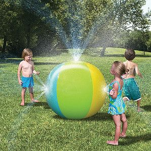 Great to cool off on those hot summer days! Sprayers attach to garden hose to keep the sprayer pumping water.