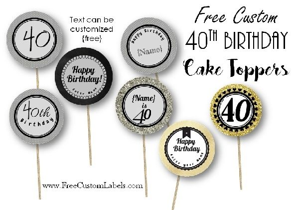 1000 Ideas About 40th Birthday Cakes On Pinterest 40