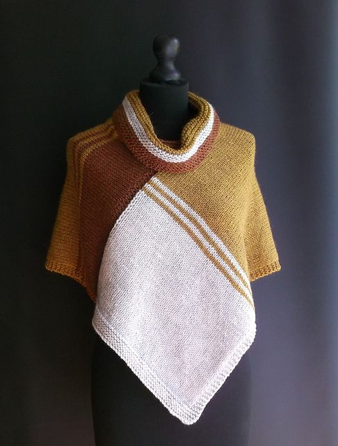 Knitting Poncho With Two Rectangles : Best images about knitting poncho on pinterest