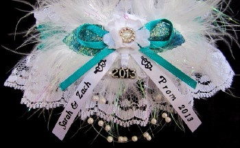 www.garters.com - Prom Garter - Tradition.    We offer 175 colors of Satin Band to match your dress. For more glitzy glitz, there is silver or gold metallic band. All of our Garters can be personalized with your names & event. Wedding Garter - Bridal Garter - Prom Garter - Sports Garter - Homecoming & Cheerleader Garter - Biker Motorcycle Garter - Custom Themed Garters - and MORE ...
