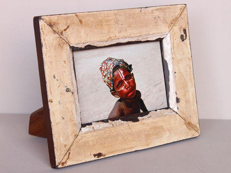 Upcycled Beige Photo Frame https://www.scaramangashop.co.uk/item/7837/2/Gifts-For-Women/Upcycled-Beige-Photo-Frame.html