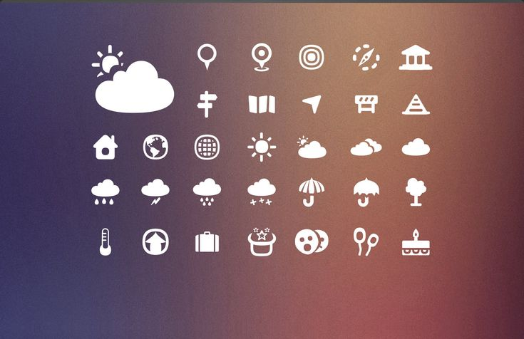 Your only stop if you are searching for a minimalist icon set. And what a set this is: over 1000 vectorized icons in 46 categories for you to use in any commercial project you need.