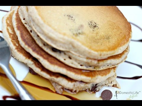 how to make homemade chocolate chip pancakes from scratch