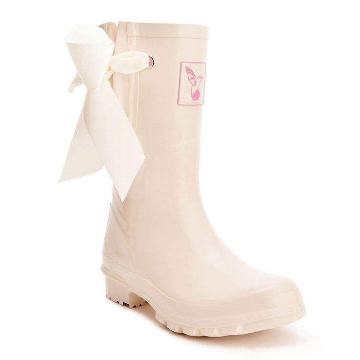 Women's Rain Boot Waterproof Mid-Calf Boots Rainbow Stripes Cute Animal Print Polka Dot Milky Wedding Rain Boots Wellies Rain Shoes UK Brand ** Want additional info? Click on the image.
