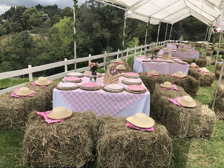 Fiesta de granja para niñas