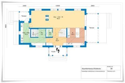 Kokkolan Asuntomessukohde 38, Kannustalon Aarre, 187 m2 | Sisustus ja Sepustus