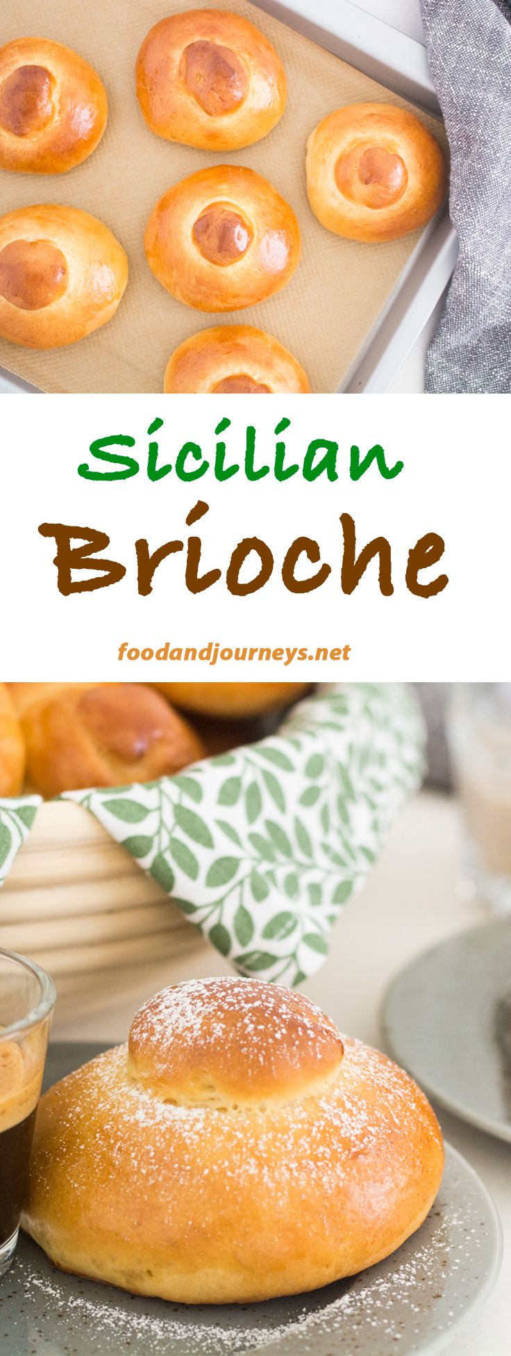 Bread | Italian | Sicilian | Snack. Sicilian Brioche is the perfect match for Almond Granita! You can enjoy this bread as snack or breakfast -- exactly how the Sicilians like it!