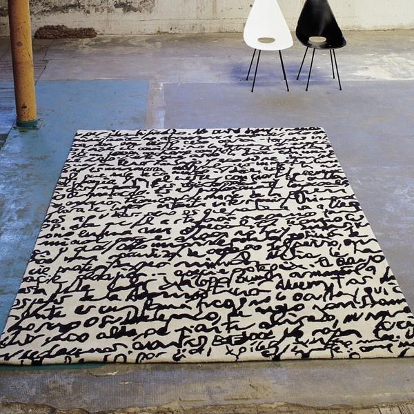 alfombras ante el reto del papel en blanco