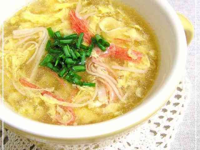 ◆カニ玉みたいな◆ふわふわスープの画像