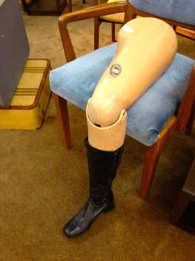 Vintage Signs For Sale >> Vintage Prosthetic Leg - On Sale - $25 | Prosthetic amputee | Pinterest | Accessories, Clothing ...
