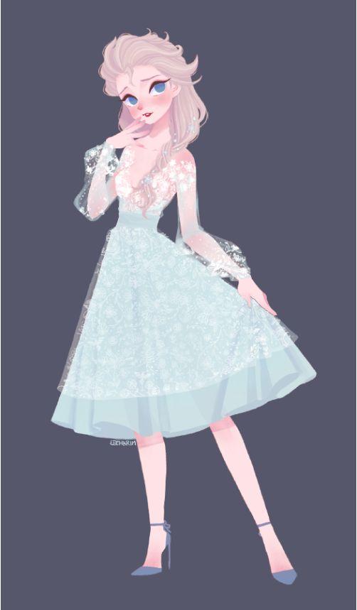 Elsa. Vintage eyes