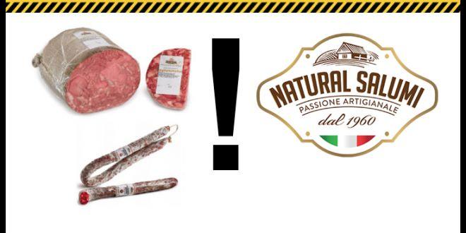 """Coop ritira """"Coppa di testa"""" e """"Salsiccia passita"""" a marchio """"Natural Salumi"""" perché non conformi ai parametri di sicurezza alimentare"""