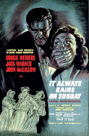 Directed by Robert Hamer.  With Googie Withers, Jack Warner, John McCallum, Edward Chapman. An escaped convict tries to hide out at his former lover's house but she has since married and is far from keen on the idea.