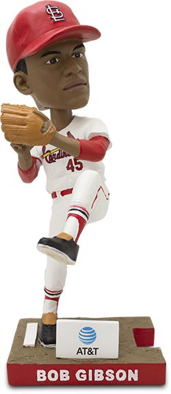 Don't miss the chance to relive one of the best moments in St. Louis Cardinals history. On June 24th, 30,000 fans, ages 16 & older will receive a Bob Gibson bobblehead commemorating the final out of the 1967 World Series, courtesy of AT&T. But wait! This is only part one of the set. Check out July promotions to complete your championship battery!