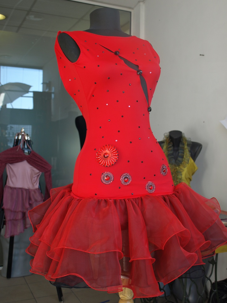 GianniStyle.com Passion in Red - Latin Dress