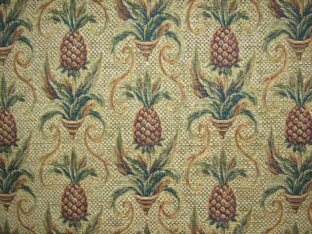 Pineapple Upholstery Fabric Google Search Pineapple