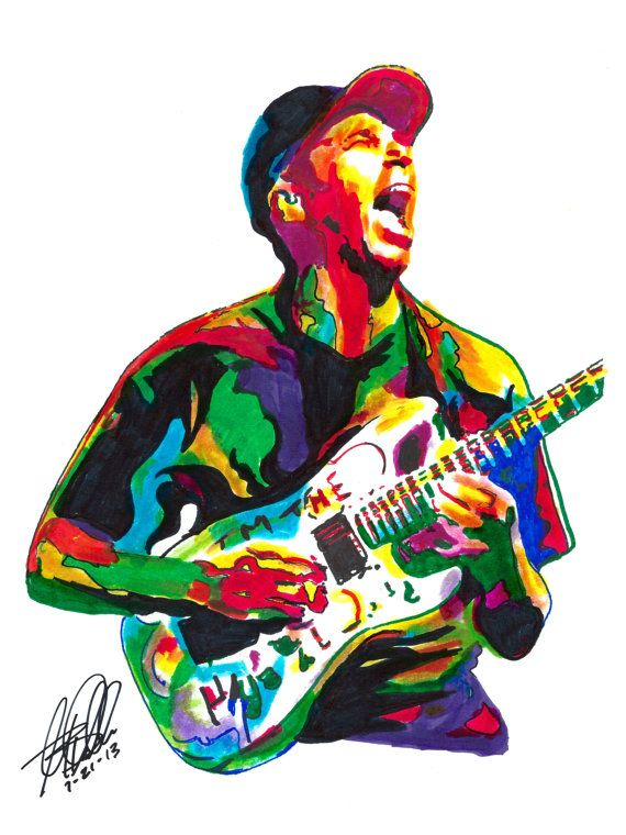 Tom Morello Rage Against the Machine Audioslave Guitar by thesent
