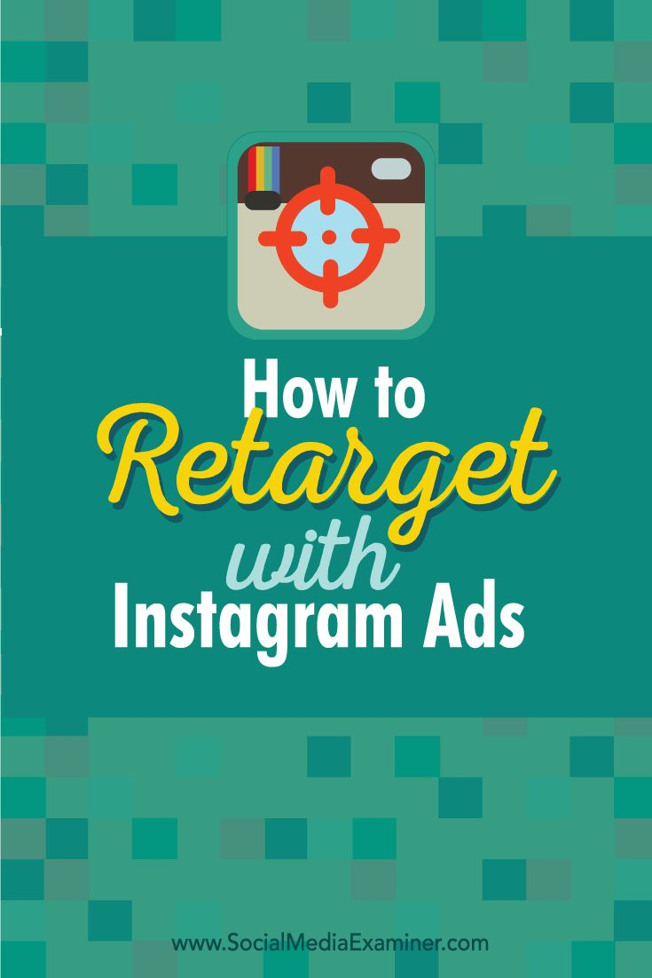 Are you retargeting people with Facebook ads?  Want to know how to retarget Instagram users?  Serving relevant Instagram ads to people who've visited your website helps increase sales and conversions.  In this article you'll discover how to retarget your website visitors using Instagram ads. Via @smexaminer