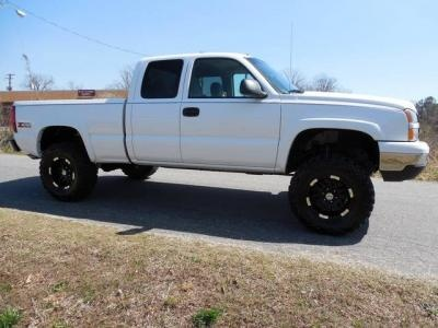 2007 Chevy Silverado 1500 Classic Ls Lifted Truck Lifted