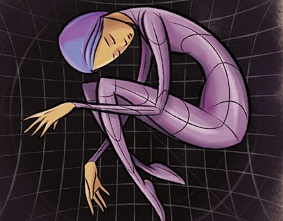 "Check out new work on my @Behance portfolio: ""Sleeping on the Spacetime"" http://on.be.net/1KSOB9c"