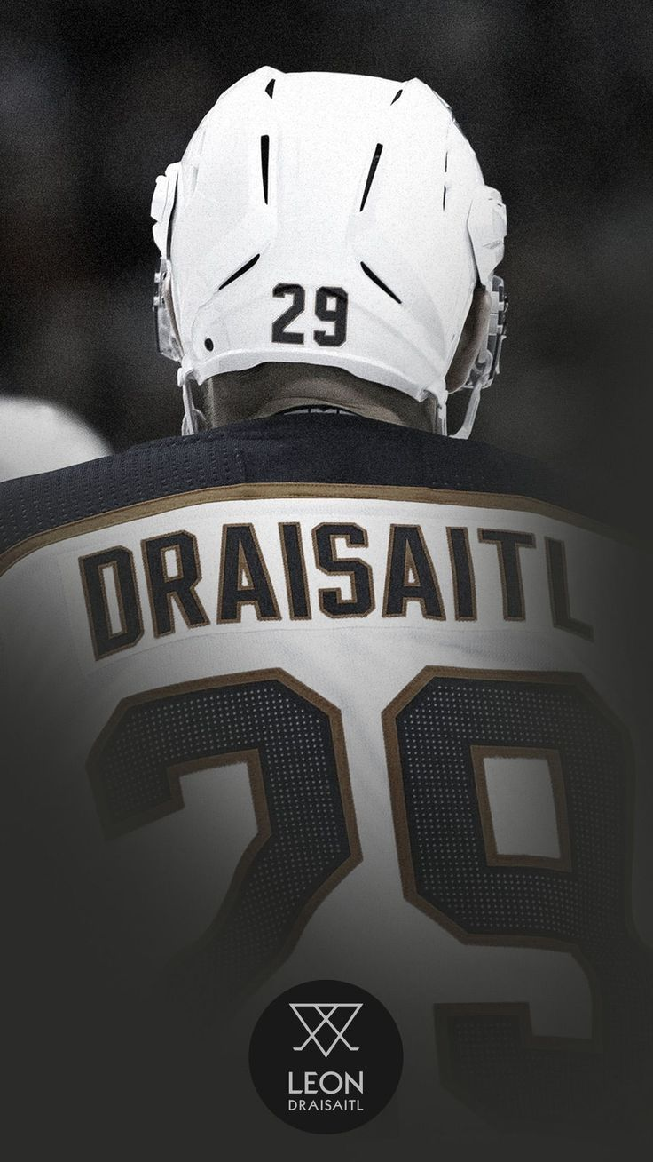 The German Nhl Ice Hockey Player Drasaitl 29 Design For Your Wallpaper By Leon Draisaitl Available For All Phone Cases Laptop Sleeves Eishockey Hockey Eis