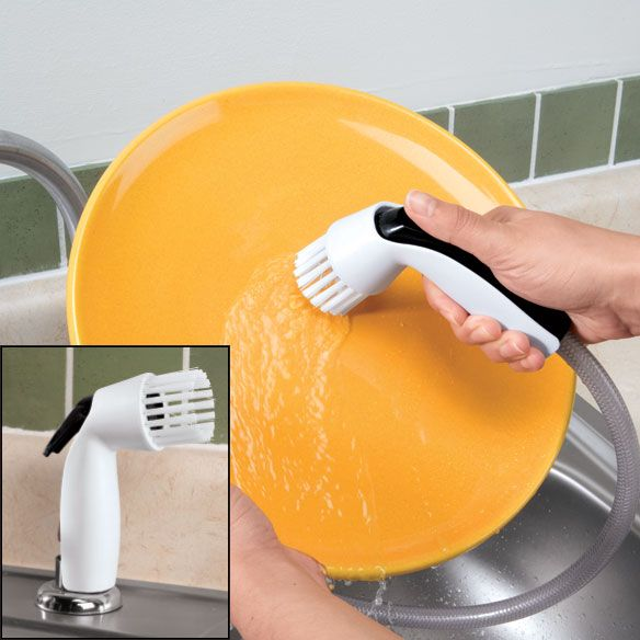 Kitchen Sink Spray Scrubber - Zoom