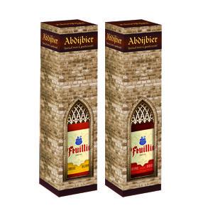Deze sfeervolle Abdij Bierkokers zijn gevuld met een fles St Feuillien Bruin 75cl, of St Feuillien Blond 75cl. U krijgt deze geleverd in een doos van 6 stuks, 2×3 flessen. www.multicadeau.nl