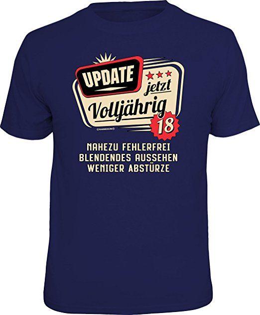 Original Rahmenlos T Shirt Zum 18 Geburtstag Update Jetzt