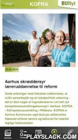 BUnyt  Android App - playslack.com , Er du medarbejder i Børn og Unge, Aarhus Kommune? Få daglige nyheder om, hvad der rører sig på de mange arbejdspladser i Børn og Unge, Aarhus Kommune, Danmark.Med BUnyt App'en kan du bl.a.:- Få daglige nyheder til, om og for medarbejdere i Børn og Unge, Aarhus Kommune, direkte ind på din smarttelefon.- Få BUnyt magasinet, vores 14. dags BUnyt, direkte ud til dig.- Se løbende videonyheder, videoreportager, fra institutioner, skoler, FU og øvrige enheder i…