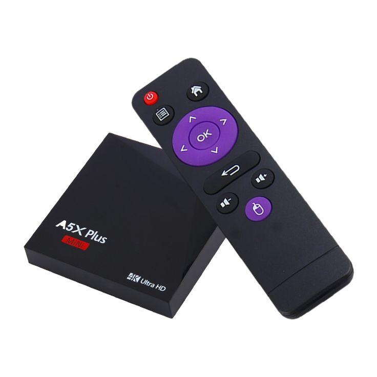 A5XPLUS-RK3328 Android 7.11080P4K(1G+8G)TV Set Top Box Full HD Media Player Smart Television Box Mini Android Player Unique #Affiliate