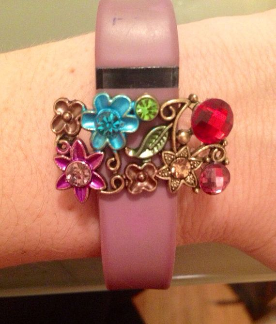 Fitness Band Charm for Fitbit Charge Fitbit Flex or by FANFASHIONS
