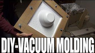 vacuum acrylic diy - YouTube